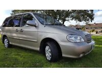 kia sedona 2006 in immaculate condition throughout low mileage