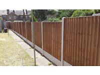 FENCING, Fence Supply and Fitting. Close board fence panel set with installation only £89
