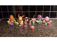 Moshi monsters figures including 2 limited editions