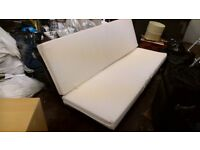 Second hand 4 seater sofa double bed
