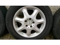 Mercedes S Class alloys alloy wheels