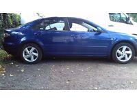 Blue Mazda 6 TS QUICK SELL! £800 CASH Negotiable WAS £950! Low Mileage. New Bat. MOT Till June 2017