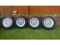 bmw wheels and good winter tyres 255/55r/16