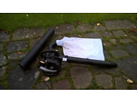 McCulloch GBV325 Petrol Leaf Blower with Suction pipe and Collection bag