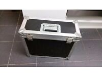 Flight case hardware with latches aluminium outside protective foam inside to protect your stuff