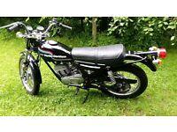 AMF Harley Davidson SST250 1980 reg. (Manufactured 1976)