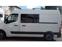 Vauxhall Movano 2 berth 4 seat camper