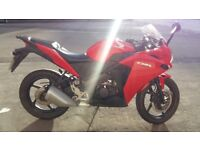 Honda CBR125r 2014 low mileage