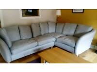 Chunky, stylish and comfy corner sofa