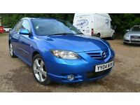 Stunning Mazda 3 2.0 Sport, Winning Blue Metallic, Extremley Low Miles 86803, Excellent Condition