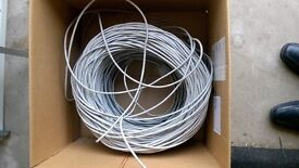 Box Reel CAT5e 4 Pair UTP PVC Cable 300m (approx)