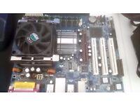 P4i65G motherboard. 2GB RAM, Pentium 3.4ghz CPU bundle