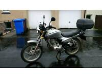 Lifan LF125 motorcycle (Honda CG125 copy)