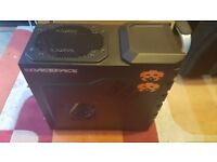 Cooler Master HAF 912 Plus PC Gaming Case + DVD-RW - ATX, Micro-ATX