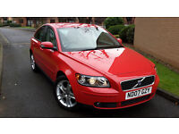 2007 VOLVO S40 1.6 DIESEL,LOW MILEAGE,FULL LEATHER,VERY GOOD COND.CAM BELT DONE!!!