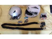 Helmets + acc
