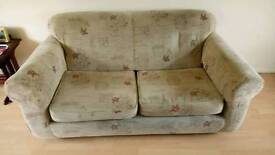 Sofa bed two seater settee