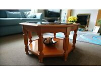 octagonal coffee table for sale