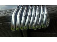 Callaways X Forged irons 3-PW with project X shafts