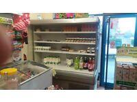 shop open front chiller