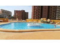 Costa Blanca 1 bedroom apartment ,sleeps 4 ideal for family with small children.Central location.