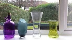Vases £2 each