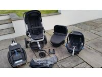 Quinny Buzz Travel System, Car Seat & Isofix Base