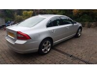 Volvo S80 SE T A in excellent condition with only 40,500 miles of genuine mileage