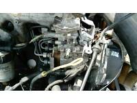 Ford transit 2.5 banana type engine breaking for parts and spares, all parts available, alternator