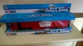 Corgi. Super haulers Mr Kipling. 1:64 UK/No TY86656. BRAND NEW IN WINDOW BOX. DIECAST COLLECTABLES