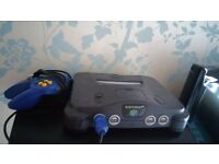nintendo 64... 2pads... mario 64... other games