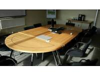 Conference table and chsirs