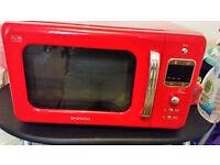 Deawoo Red Microwave Model 7LBKR …