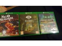 Xbox one games for sell
