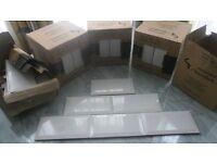 White Subway metro ceramic tiles 10cm x 20cm 3.5 metres only £50 Southsea