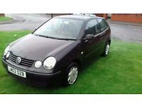 2002 vw polo 1.4 tdi (pd) sport cheap tax service history great condition