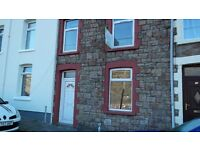 REDUCED! Two bed in Waunlwyd Ebbw Vale recently refurbished, priced at £400 per month