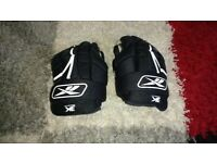 "Reebok ice hockey gloves size 11"""