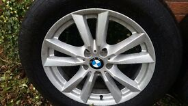 "COMPLETE SET OF LA BMW 4 18"" Alloy Wheels with Michelin tyres"