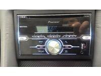 radio cd double din pioneer