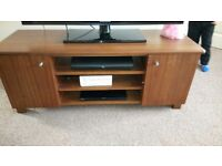 Solid oak TV cabinet/stand