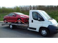 Vehicle Transportation/Collection and Delivery/Recovery Service. Salvage/Spares or repair/Non runner
