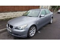 BMW 5 Series 3L 530i SE 4dr Petrol Automatic Grey, Good Condition 125k Mileage