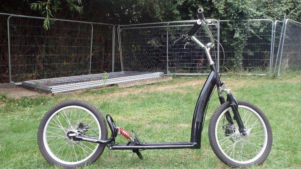 Full suspension Dog Scooter Pawtrekker