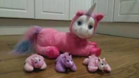 Pony Surprise Unicorn toy and babies