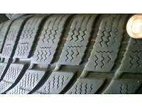 225/45/17 winter tyres