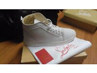 New Men's White Louboutin's - Size 10