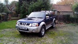 Nissan Navara 2004 - Reconditioned Engine fitted 1000 miles ago