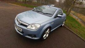 Vauxhall Tigra 1.8L 16V Exclusiv 2006 Blue