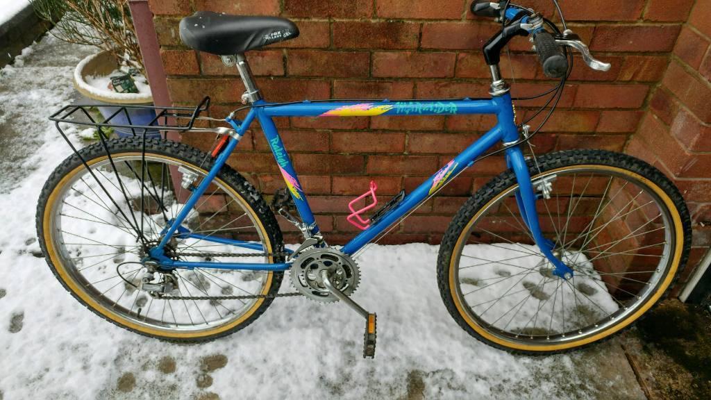 Retro Raleigh Marauder Mountain Bike In Dukinfield Manchester